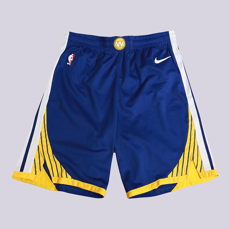 Шорты Nike NBA Golden State Warriors Nike Icon Edition AuthenticШорты<br>100% полиэстер<br><br>Цвет: Синий<br>Размеры US: 30;34;38;42;46;50<br>Пол: Мужской