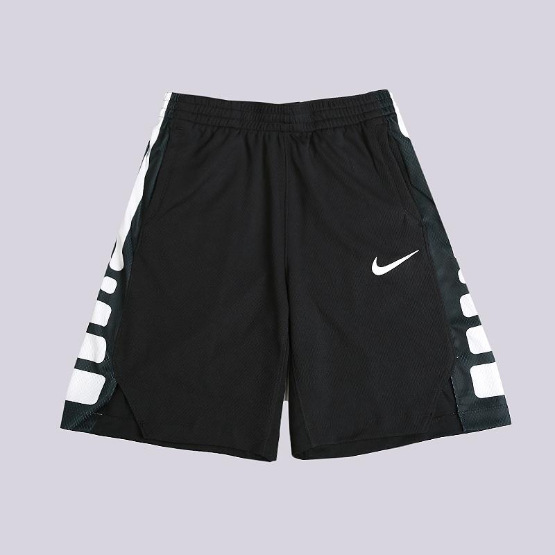 Шорты Nike Dri-FIT Elite Older Kids Basketball ShortsШорты<br>100% полиэстер<br><br>Цвет: Черный<br>Размеры US: XS;S;M<br>Пол: Детский