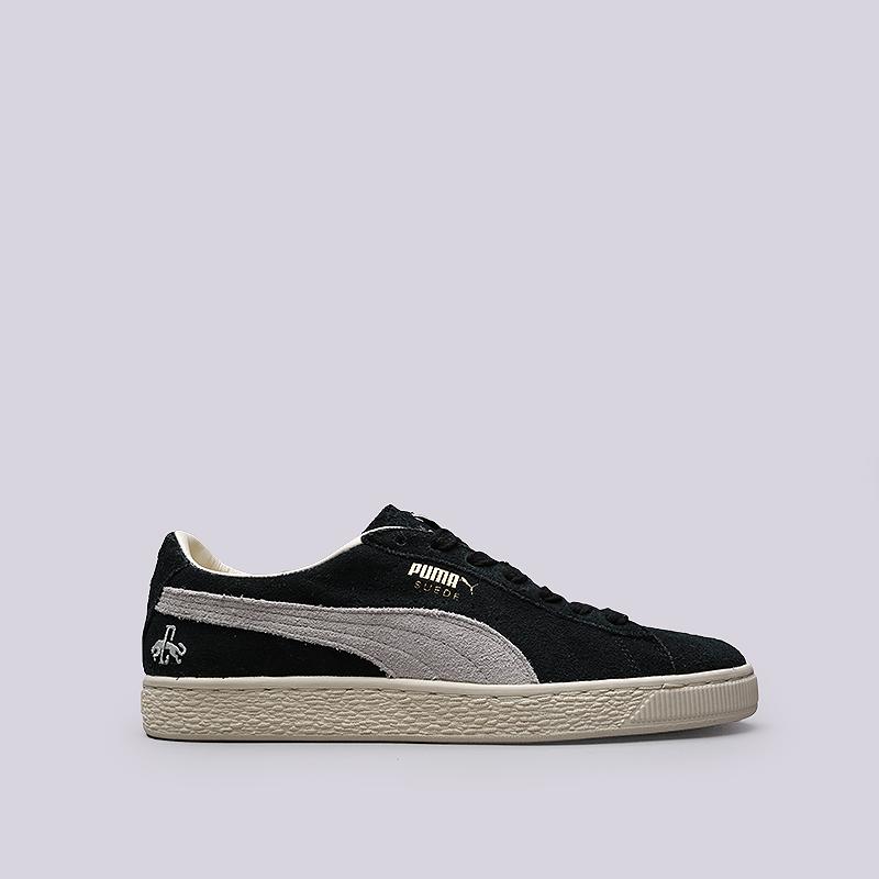cd1b6ce4a841f3 мужские черные кроссовки puma suede classic rudolf dassler 36617001 - цена,  описание, фото 1