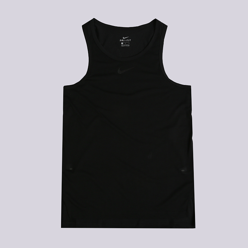 Майка Nike Breathe EliteБезрукавки<br>75% полиэстер, 13% хлопок, 12% вискоза<br><br>Цвет: Черный<br>Размеры US: XL;2XL<br>Пол: Мужской