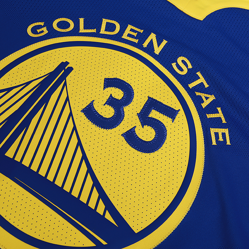 мужскую синюю  майку nike kevin durant icon edition authentic golden state warriors nba connected jersey 863022-496 - цена, описание, фото 3