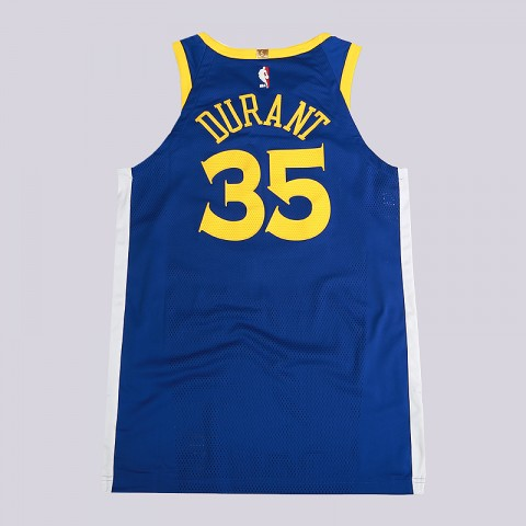 мужскую синюю  майку nike kevin durant icon edition authentic golden state warriors nba connected jersey 863022-496 - цена, описание, фото 4
