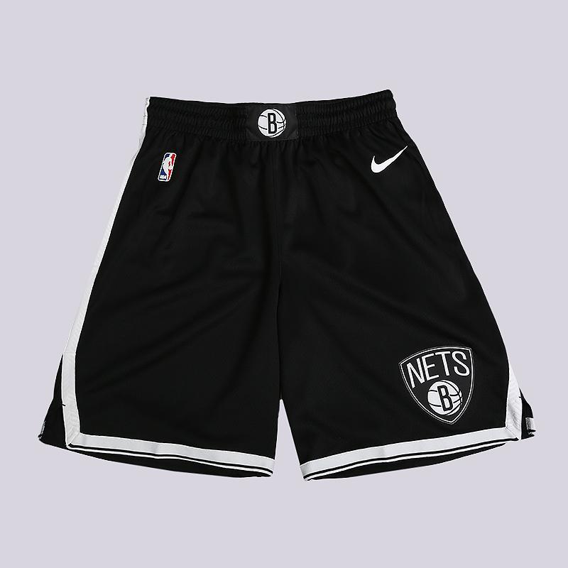 Шорты Nike NBA Brooklyn Nets Icon Edition SwingmanШорты<br>100% полиэстер<br><br>Цвет: Черный<br>Размеры US: S;M;L;XL;2XL<br>Пол: Мужской