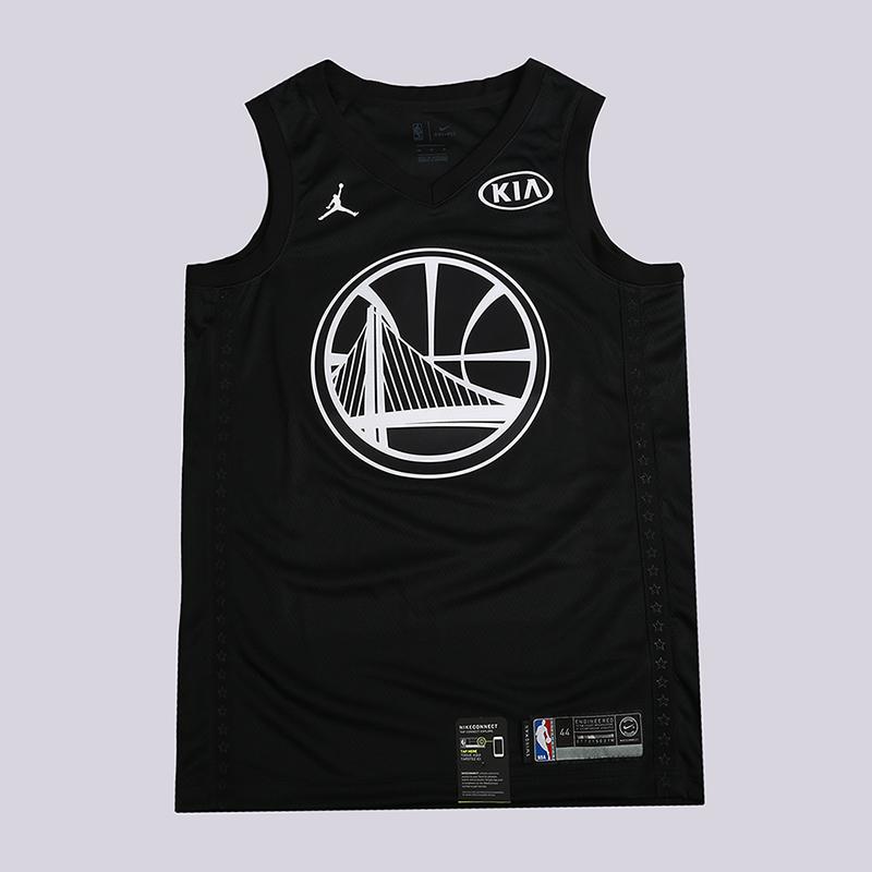 Майка Nike NBA Kevin Durant All-Star Edition Swingman JerseyБезрукавки<br>100% полиэстер<br><br>Цвет: Черный<br>Размеры US: S;M;L;XL;2XL<br>Пол: Мужской