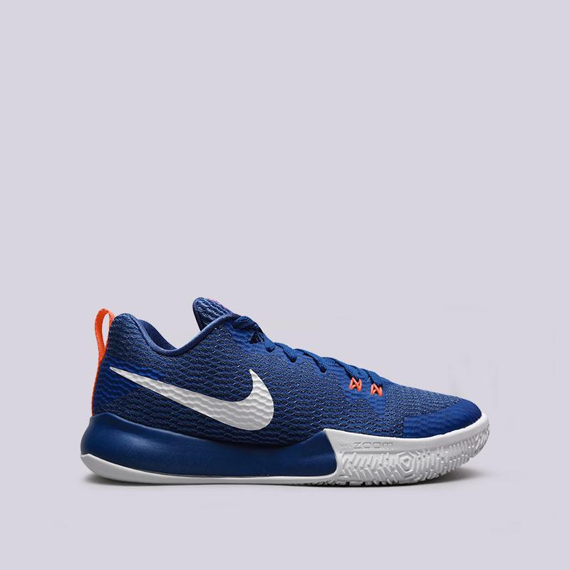 Кроссовки Nike Zoom Live IIКроссовки баскетбольные<br>Текстиль, пластик, резина<br><br>Цвет: Синий<br>Размеры US: 8;8.5;9;9.5;10;10.5;11;11.5;12;12.5;13<br>Пол: Мужской
