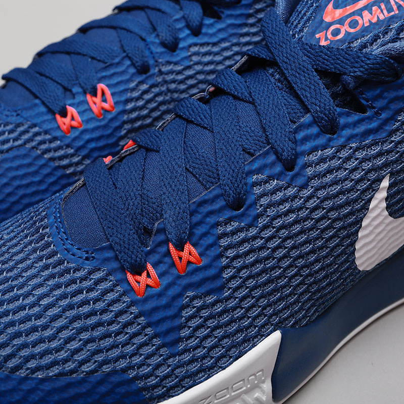 Купить мужские синие  кроссовки nike zoom live ii в магазинах Streetball изображение - 4 картинки