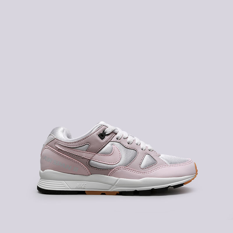 Кроссовки Nike WMNS Air Span IIКроссовки lifestyle<br>Текстиль, резина<br><br>Цвет: Серый, розовый<br>Размеры US: 5.5;6;6.5;7;7.5;8.5<br>Пол: Женский