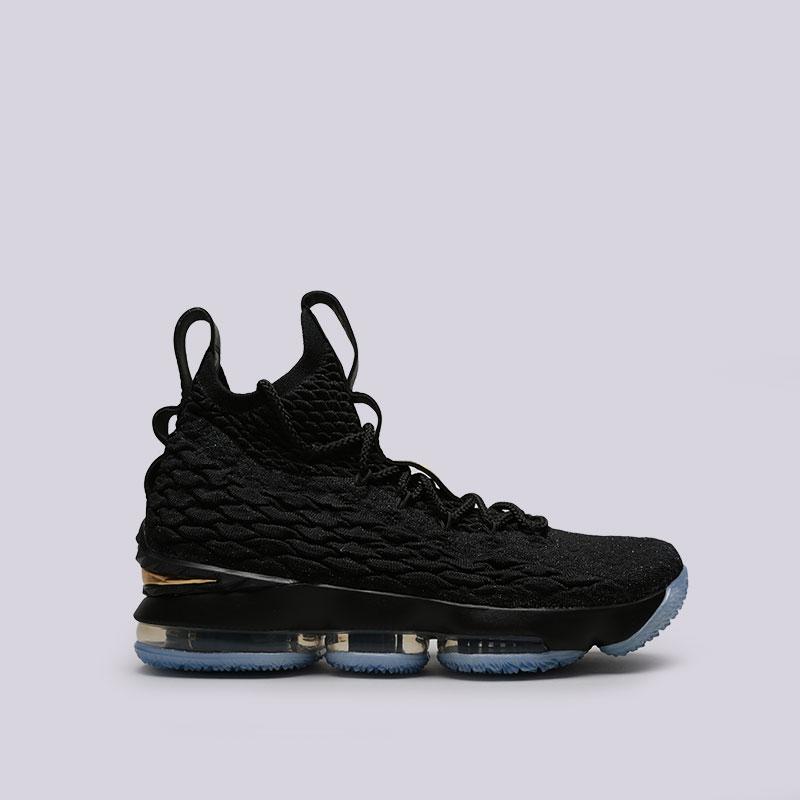 Кроссовки Nike Lebron XVКроссовки баскетбольные<br>Текстиль, синтетика, резина<br><br>Цвет: Черный<br>Размеры US: 8;8.5;9;9.5;10;10.5;11;11.5;12;12.5;13;14;15<br>Пол: Мужской