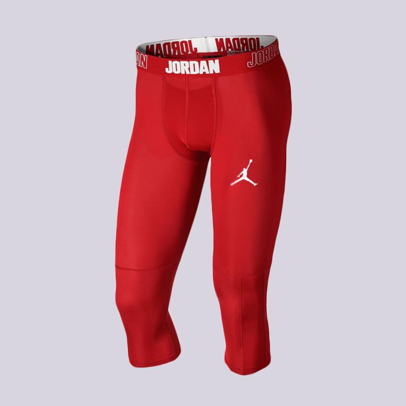 Тайтсы Jordan Dry 23 Alpha Tight 3/4Компрессионное белье<br>90% полиэстер,10% эластан<br><br>Цвет: Красный<br>Размеры US: S;M;L;XL;2XL<br>Пол: Мужской