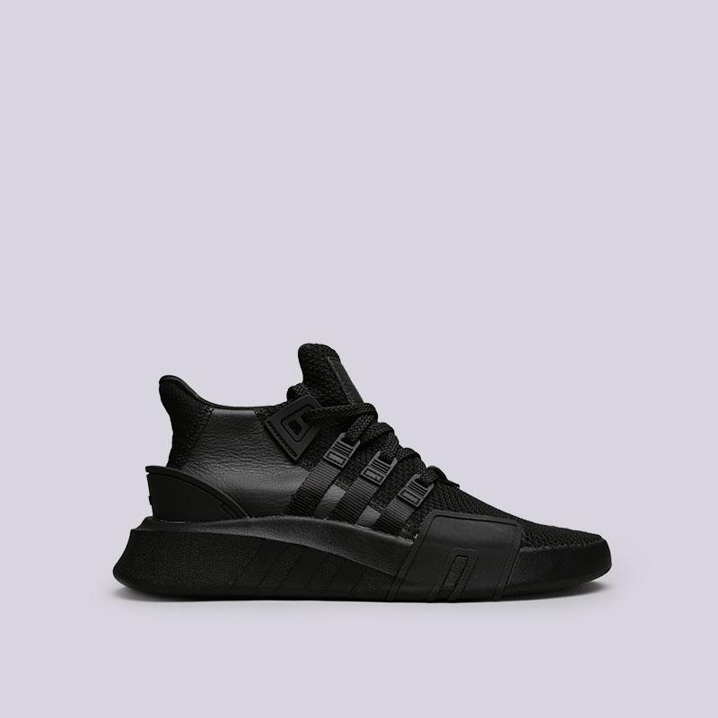 Кроссовки adidas EQT Bask ADVКроссовки lifestyle<br>Кожа, текстиль, резина<br><br>Цвет: Черный<br>Размеры UK: 7.5;8;8.5;9;9.5;10;10.5;11.5<br>Пол: Мужской