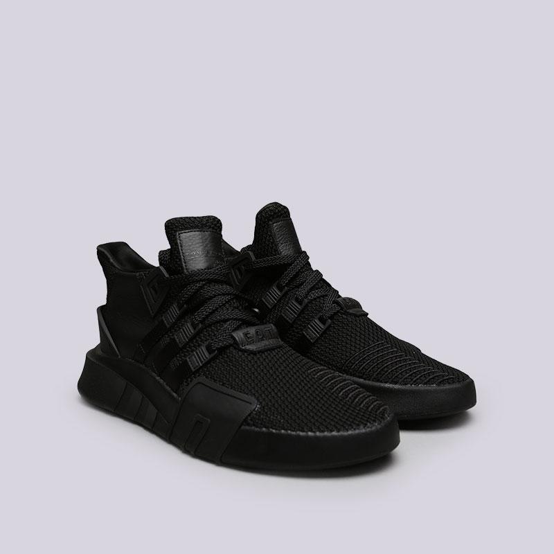 мужские черные кроссовки adidas eqt bask adv DA9537 - цена, описание, фото 4 b2c2b707625