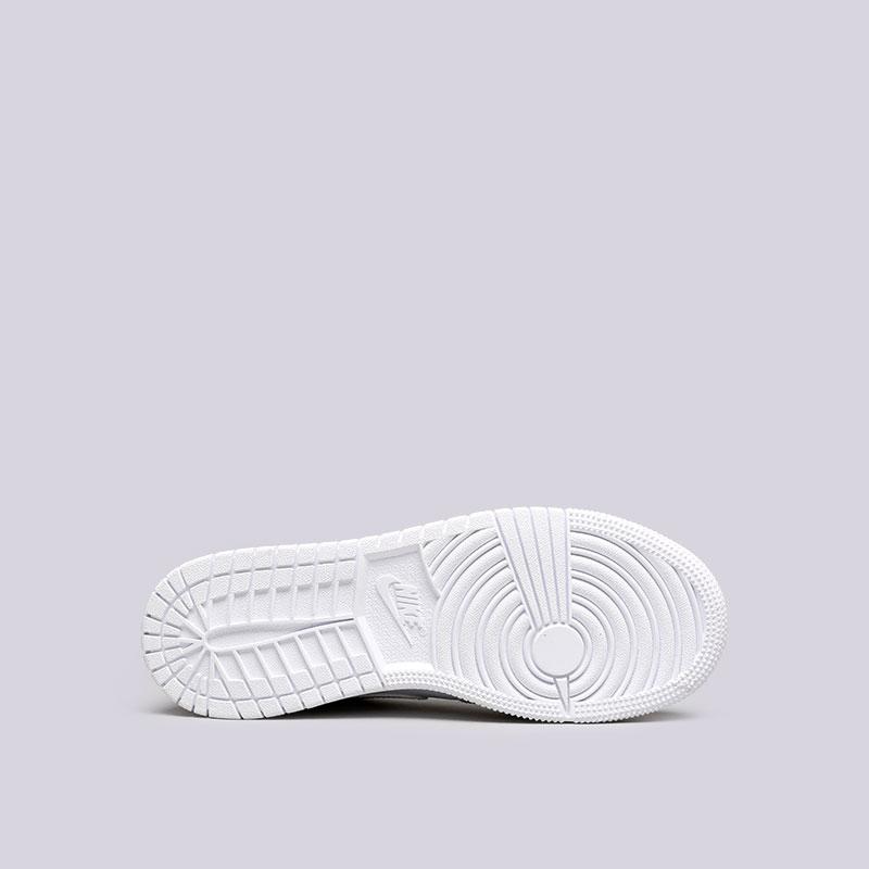 Купить женские белые  кроссовки jordan 1 low bg в магазинах Streetball изображение - 2 картинки