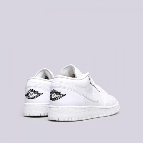 Купить женские белые  кроссовки jordan 1 low bg в магазинах Streetball - изображение 3 картинки