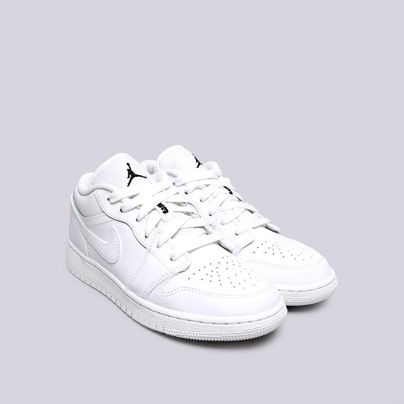 Купить женские белые  кроссовки jordan 1 low bg в магазинах Streetball изображение - 4 картинки