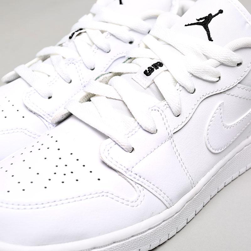 Купить женские белые  кроссовки jordan 1 low bg в магазинах Streetball изображение - 5 картинки