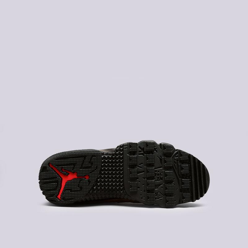 мужские черные, коричневые  кроссовки jordan ix retro boot nrg AR4491-012 - цена, описание, фото 2
