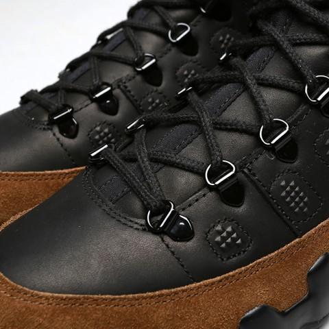 мужские черные, коричневые  кроссовки jordan ix retro boot nrg AR4491-012 - цена, описание, фото 5