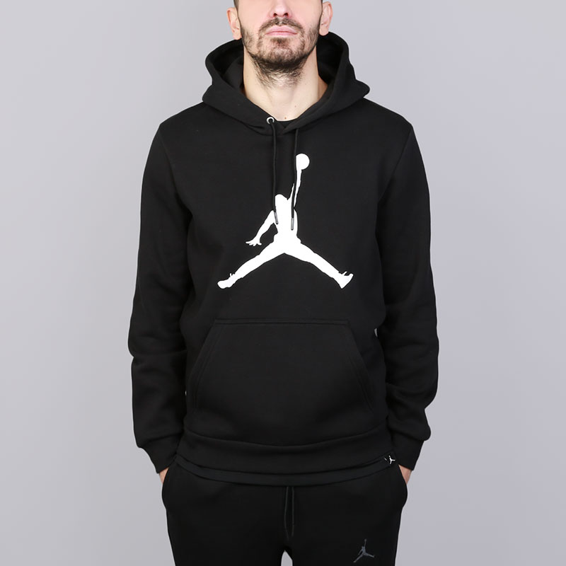 Толстовка Jordan Flight Fleece Jumpman Air Pullover Hoody
