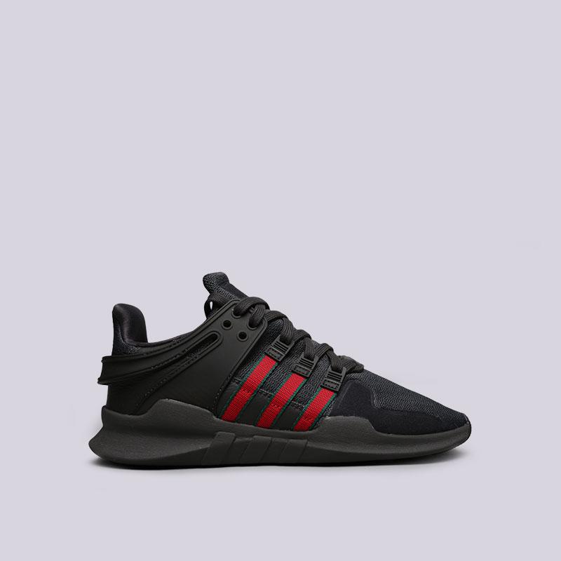 Кроссовки adidas EQT Bask ADVКроссовки lifestyle<br>Кожа, текстиль, резина<br><br>Цвет: Черный<br>Размеры UK: 8;9.5<br>Пол: Мужской