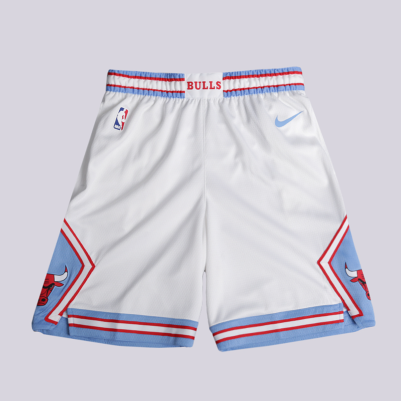 Шорты Nike Chicago Bulls City Edition Swingman NBA ShortsШорты<br>100% полиэстер<br><br>Цвет: Белый<br>Размеры US: S;M;L;XL;2XL<br>Пол: Мужской