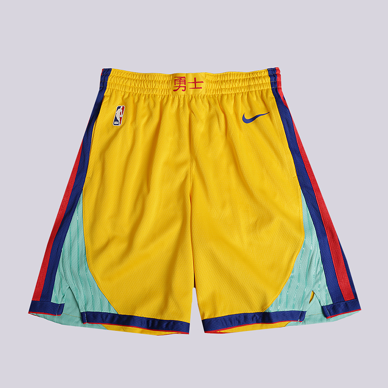 reputable site 63052 990d3 Шорты Nike Golden State Warriors City Edition Swingman NBA Shorts от  Streetball