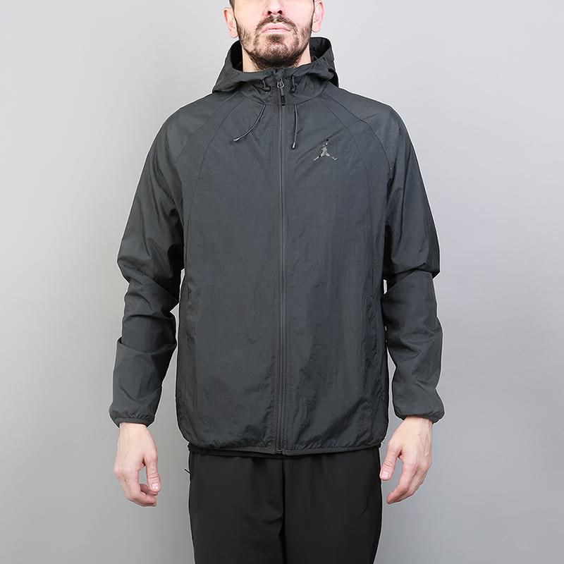 Куртка Jordan Wings Windbreaker JacketКуртки, пуховики<br>100% нейлон<br><br>Цвет: Серый<br>Размеры US: L;M;S;XL<br>Пол: Мужской