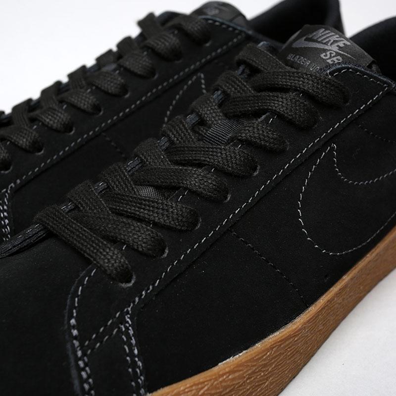 Купить мужские черные  кроссовки nike sb zoom blazer low в магазинах Streetball изображение - 5 картинки