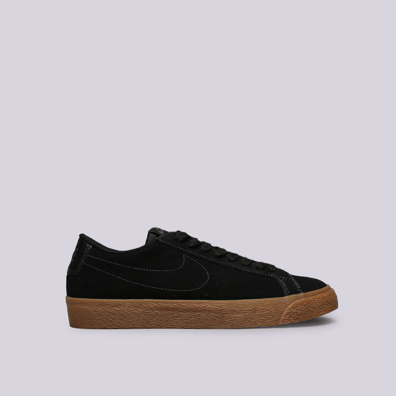 Купить мужские черные  кроссовки nike sb zoom blazer low в магазинах Streetball изображение - 1 картинки