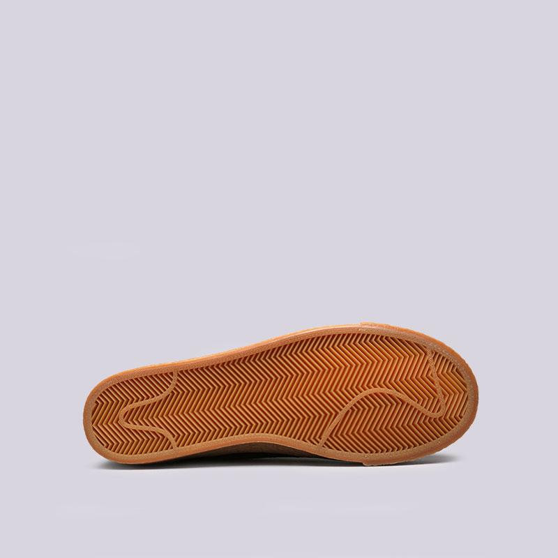 Купить мужские черные  кроссовки nike sb zoom blazer low в магазинах Streetball изображение - 2 картинки