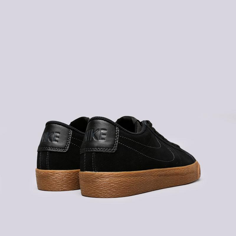 Купить мужские черные  кроссовки nike sb zoom blazer low в магазинах Streetball изображение - 4 картинки