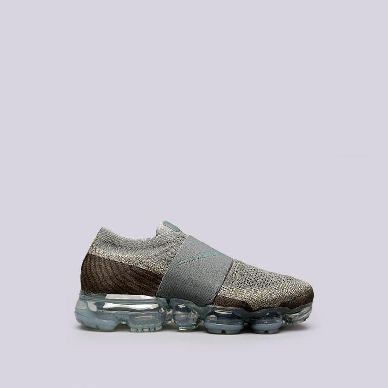 Кроссовки Nike WMNS Air Vapormax FK MocКроссовки lifestyle<br>Пластик, текстиль, резина<br><br>Цвет: Зелёный<br>Размеры US: 6;6.5;7;7.5;8;8.5;9<br>Пол: Женский