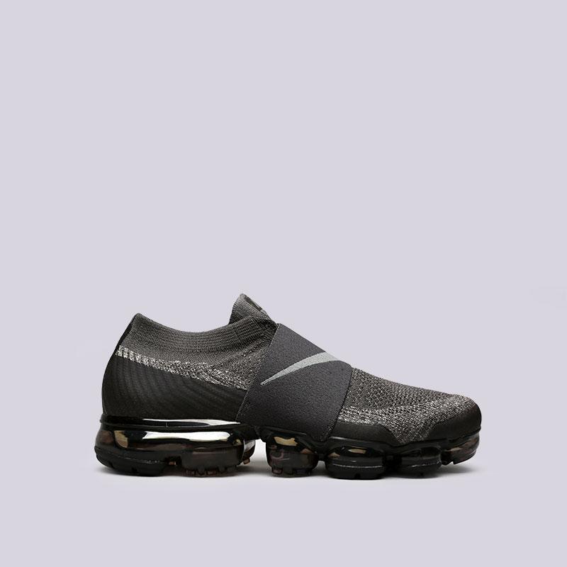 Кроссовки Nike Air Vapormax Flyknit MocКроссовки lifestyle<br>Пластик, текстиль, резина<br><br>Цвет: Серый<br>Размеры US: 8;8.5;9;9.5;10;10.5;11;11.5;12<br>Пол: Мужской