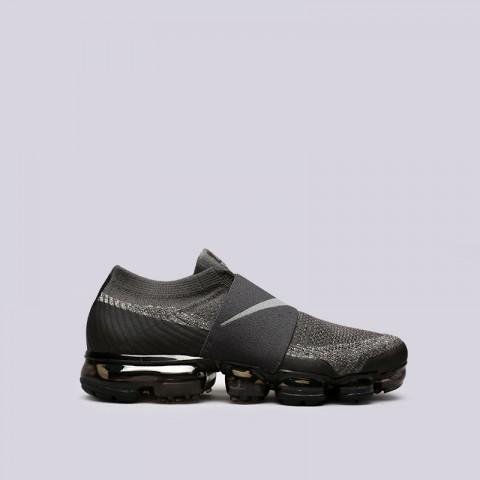 Купить мужские серые  кроссовки nike air vapormax flyknit moc в магазинах Streetball - изображение 1 картинки