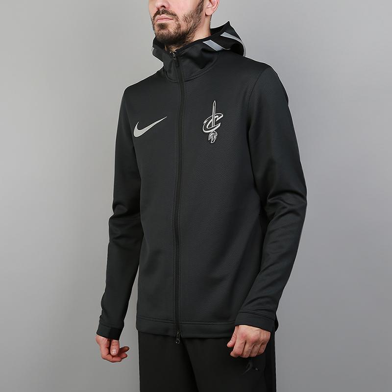 Толстовка Nike Cleveland Cavaliers Therma Flex Showtime NBA HoodieТолстовки свитера<br>91% полиэстер, 9% эластан<br><br>Цвет: Черный<br>Размеры US: S;M;L;XL;2XL<br>Пол: Мужской