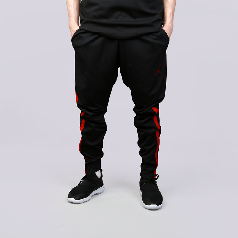 Брюки Jordan Dry 23 Alpha TrainingБрюки и джинсы<br>Полиэстер<br><br>Цвет: Черный<br>Размеры US: S;M;L;XL;2XL<br>Пол: Мужской