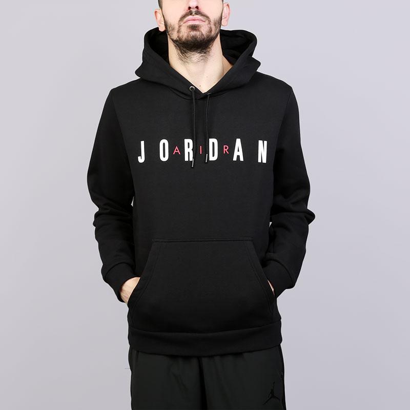 Толстовка Jordan Flight Fleece AirТолстовки свитера<br>Хлопок, полиэстер<br><br>Цвет: Черный<br>Размеры US: S;M;L;XL;2XL<br>Пол: Мужской