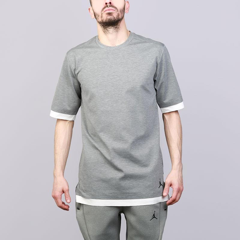 Мужская футболка Jordan JSW Tech S/S Top 899788-091  - купить со скидкой