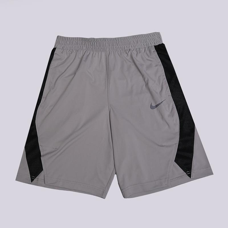 Шорты Nike Dry Elite Basketball ShortsШорты<br>100% хлопок<br><br>Цвет: Серый<br>Размеры US: S;M;L<br>Пол: Мужской