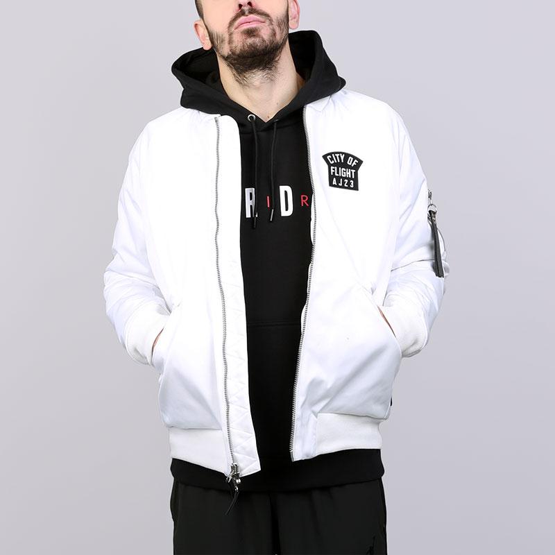 Купить Мужской куртка-бомбер Jordan Wings MA-1 Jacke, Jordan, 911313-100