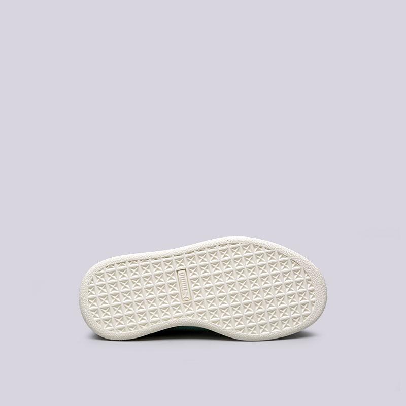детские черные  кроссовки puma suede diamond ps 36571101 - цена, описание, фото 2