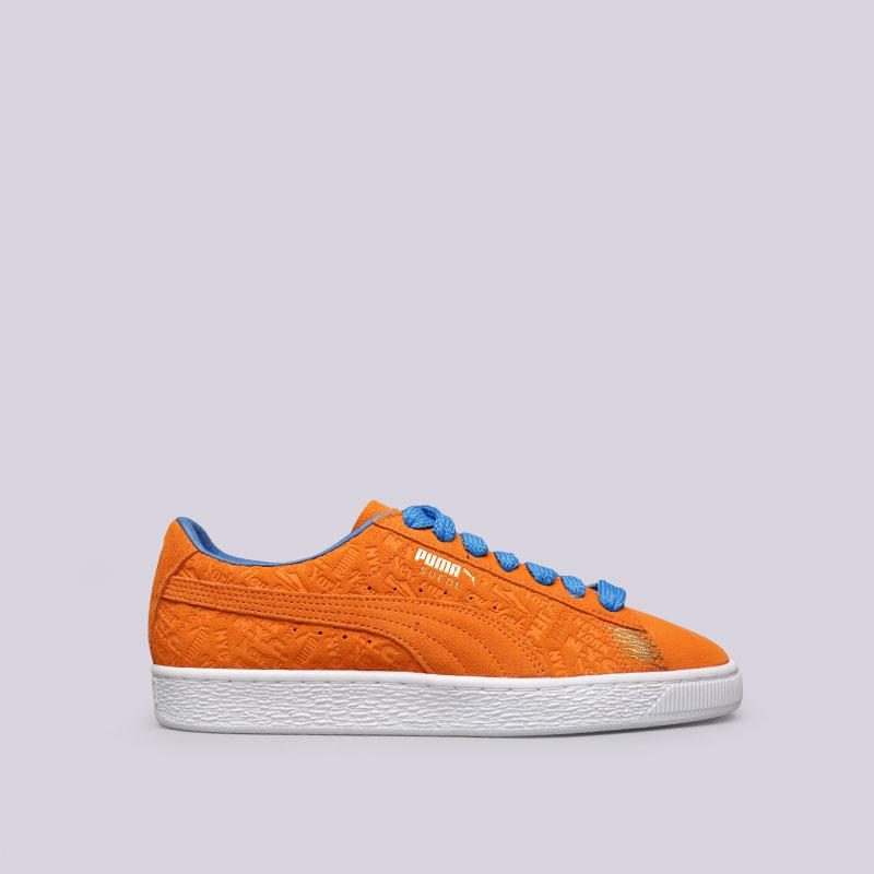 Кроссовки Puma Suede Classic NYCКроссовки lifestyle<br>Кожа, текстиль, резина<br><br>Цвет: Оранжевый<br>Размеры UK: 7;7.5;8;8.5;9;9.5;10;11<br>Пол: Мужской