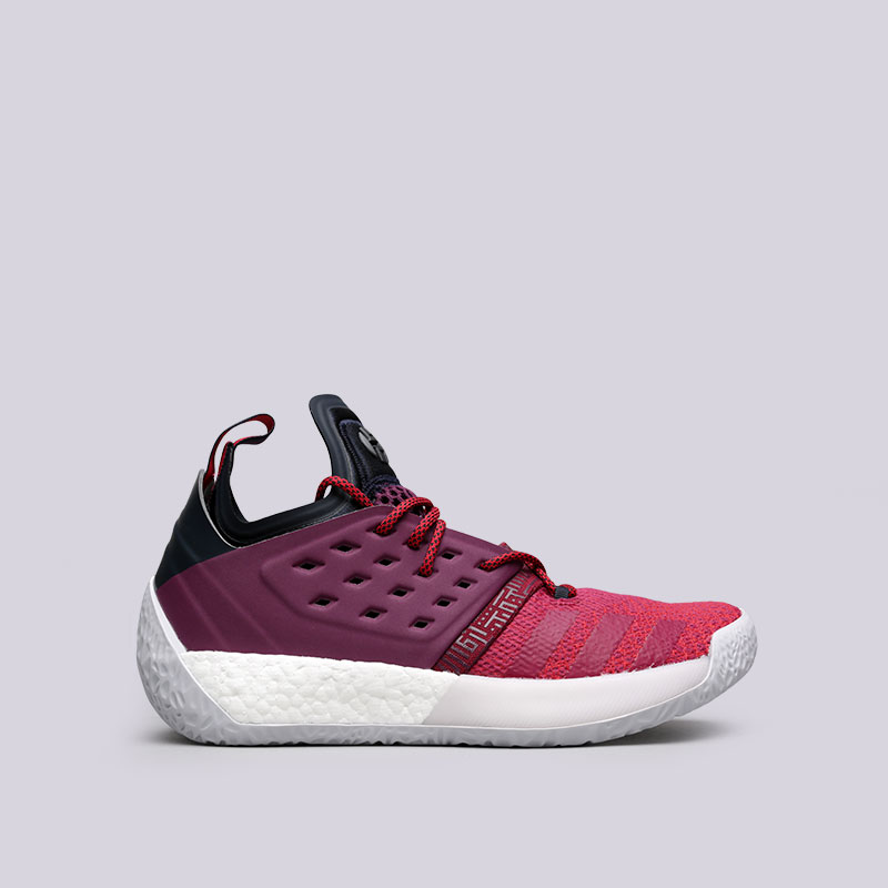 Кроссовки adidas Harden Vol.2Кроссовки баскетбольные<br>Текстиль, синтетика, резина<br><br>Цвет: Фиолетовый<br>Размеры UK: 8<br>Пол: Мужской