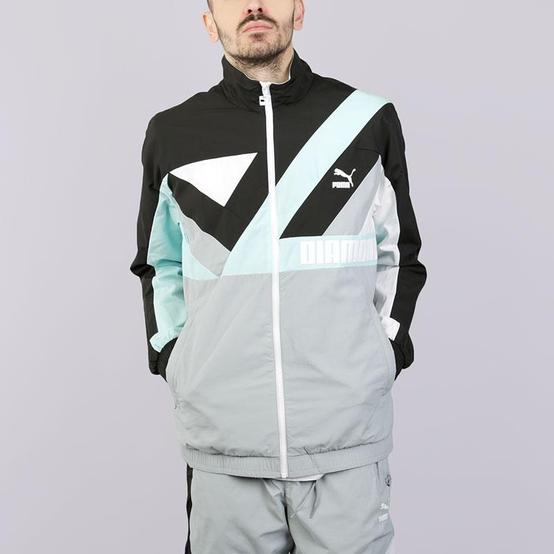 Ветровка Puma x Diamond WindjacketКуртки, пуховики<br>Полиестер<br><br>Цвет: Серый<br>Размеры UK: S;L;XL<br>Пол: Мужской