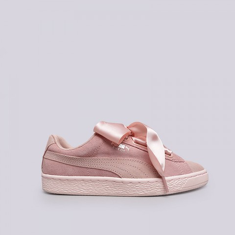 Кроссовки Puma Suede Heart Pebble Wn's