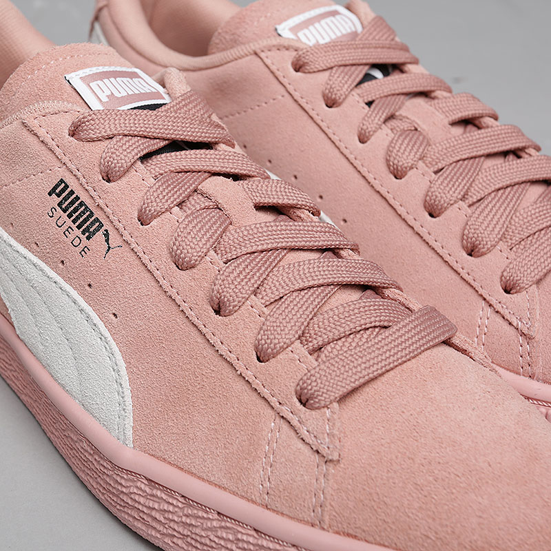 edc07b2a женские розовые кроссовки puma suede classic wn's 35546267 - цена,  описание, фото 3
