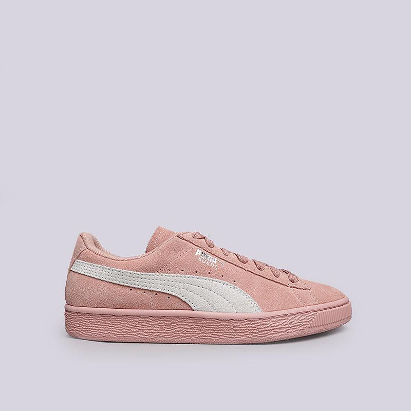 c4b8fb7a женские розовые кроссовки puma suede classic wn's 35546267 - цена,  описание, фото 1