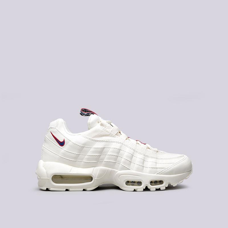 0bec98cf мужские белые кроссовки nike air max 95 tt AJ1844-101 - цена, описание,