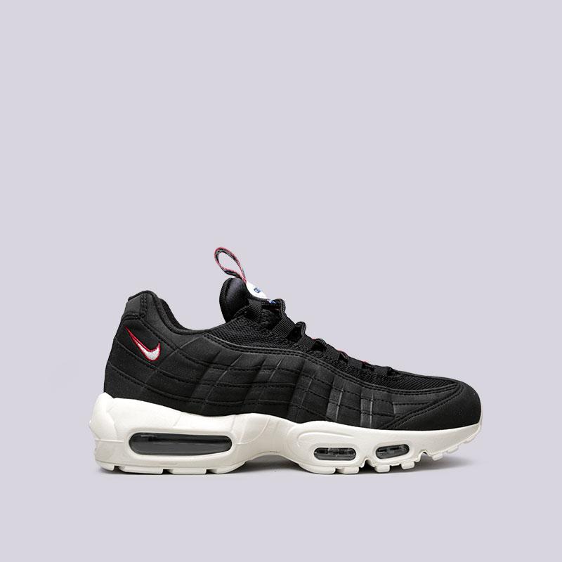 Кроссовки Nike Air Max 95 TTКроссовки lifestyle<br>Текстиль, синтетика, резина, пластик<br><br>Цвет: Черный<br>Размеры US: 4;4.5;8;8.5;9;10;11;11.5;12