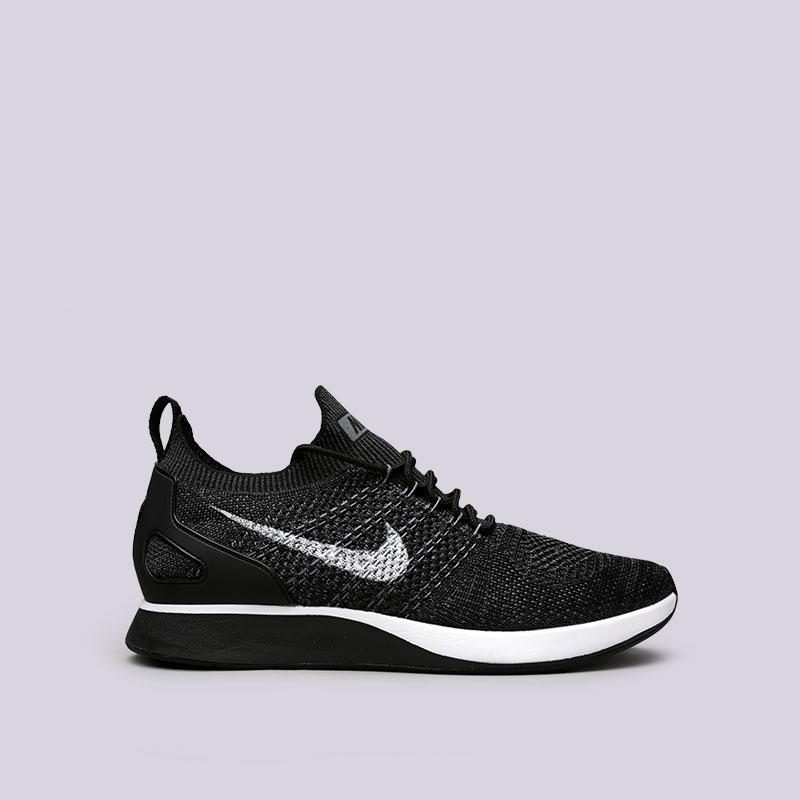 Кроссовки Nike Air Zoom Mariah Flyknit RacerКроссовки lifestyle<br>Текстиль, резина, пластик<br><br>Цвет: Черный<br>Размеры US: 8.5;9.5;10;10.5;11<br>Пол: Мужской