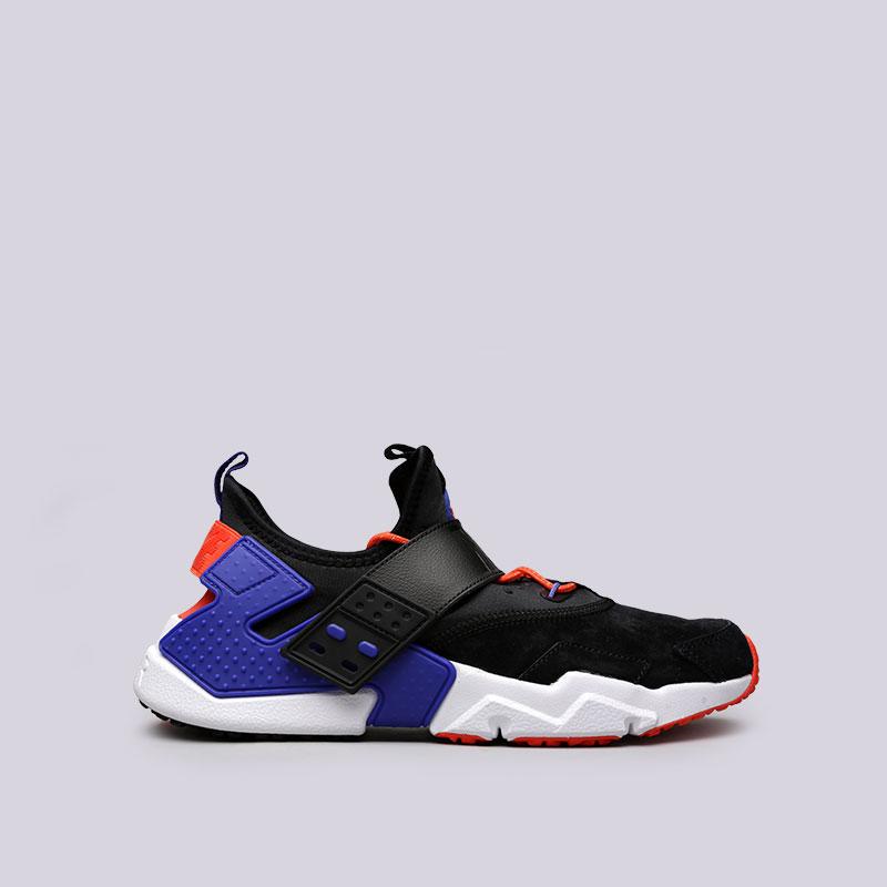 Кроссовки Nike Air Huarache Drift PRMКроссовки lifestyle<br>Текстиль, кожа, пластик, резина<br><br>Цвет: Черный<br>Размеры US: 8;8.5;10;11<br>Пол: Мужской